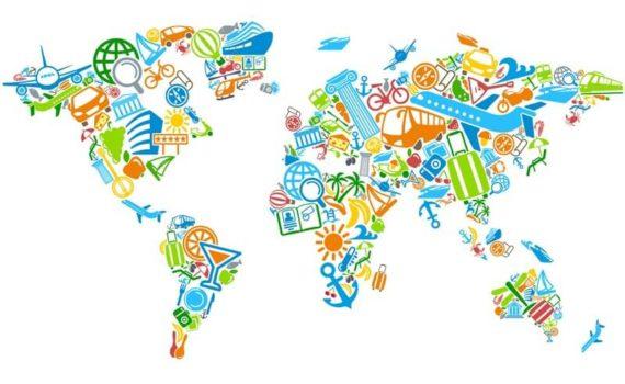 Image carte du monde