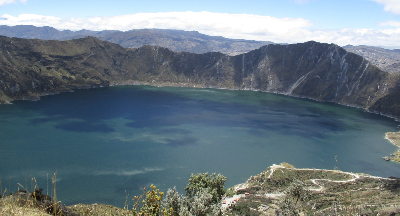 Lagune Quilotoa pour diapo
