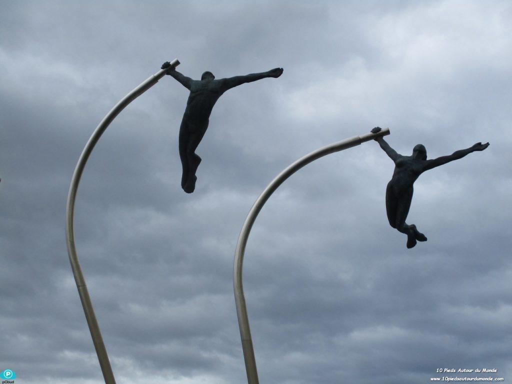 Puerto Natales - Monument au vent