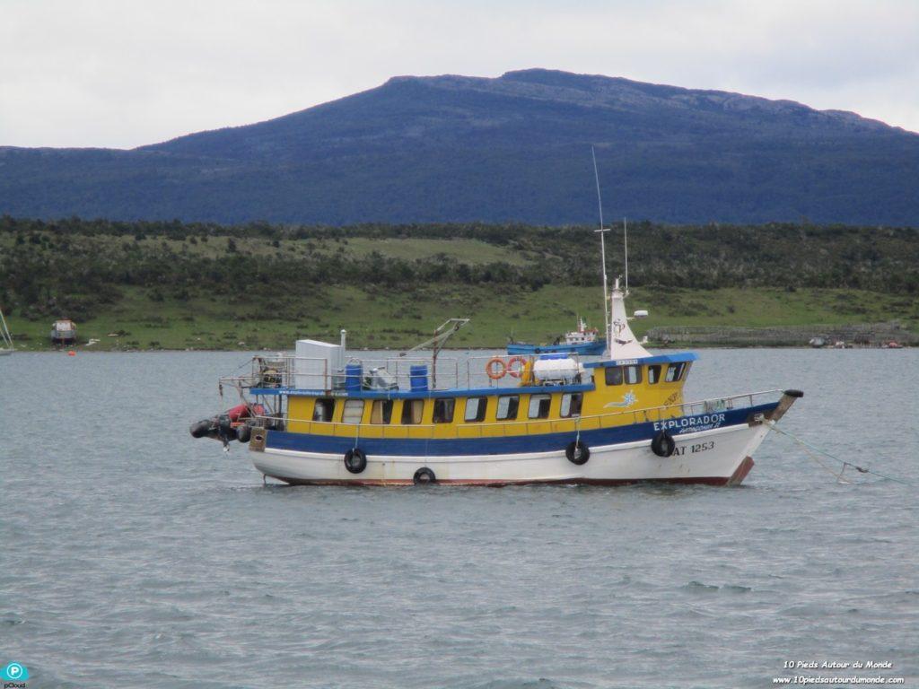 Puerto Natales - Bateau de pêche