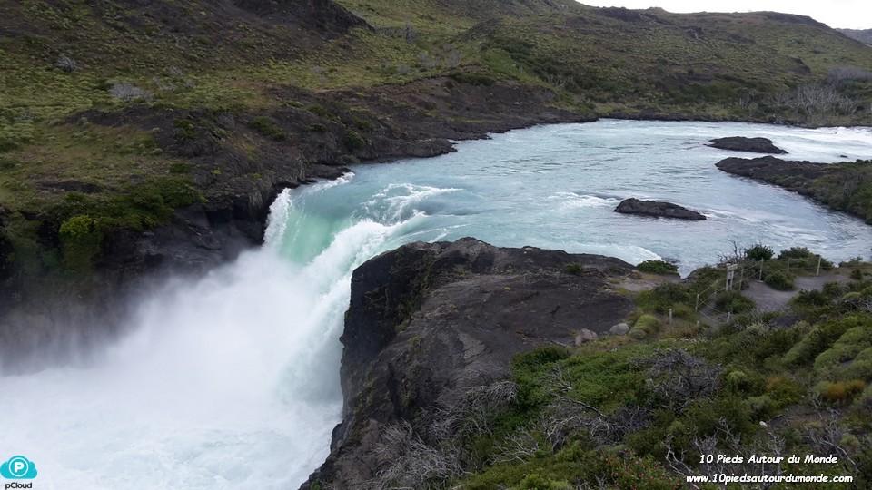 Parc Torres del Paine - Cascade Salto Grande