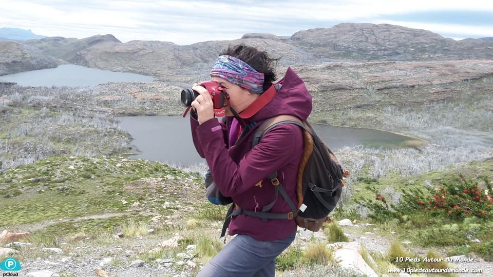Parc Torres del Paine - Mirador Condor, vue sur laguna Negra