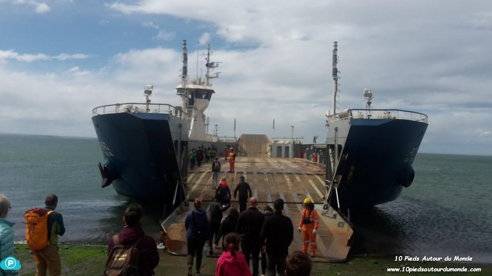 Traversée ferry