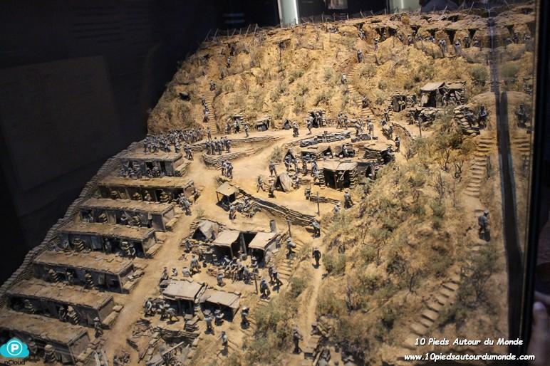 Musée Te Papa - exposition 1ère Guerre Mondiale