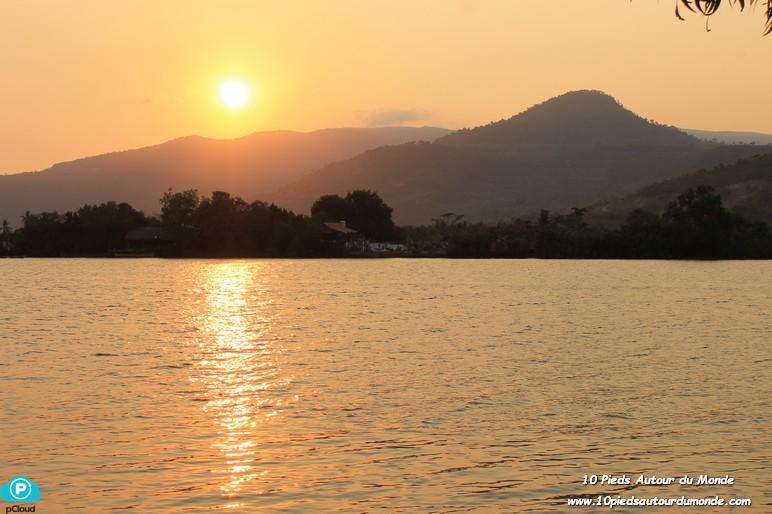 Les Manguiers - coucher de soleil