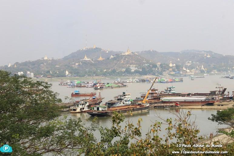 Vue vers Sagaing