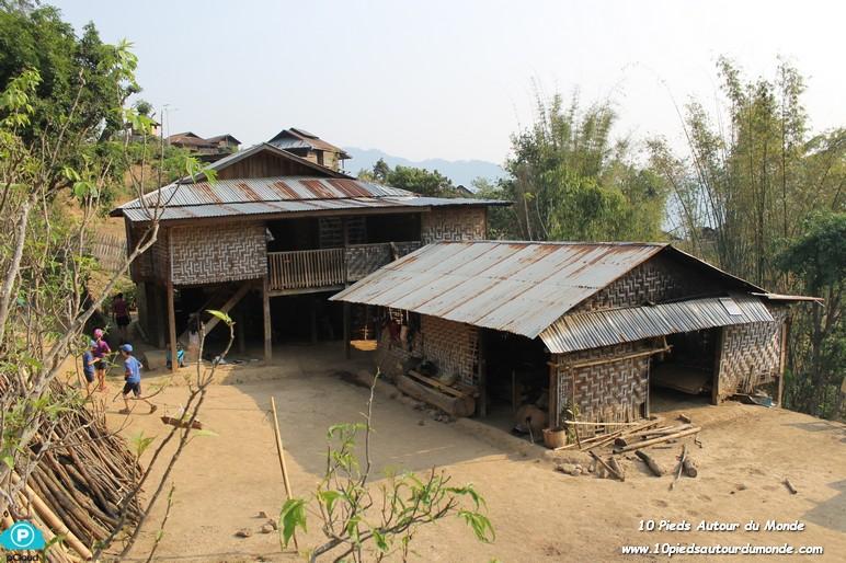 Trek Hsipaw J2 - Chez l'habitant