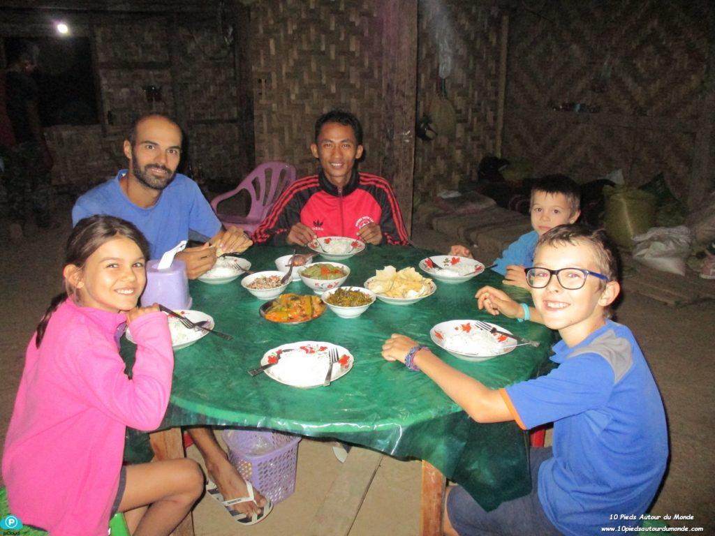 Trek Hsipaw J1 - dîner