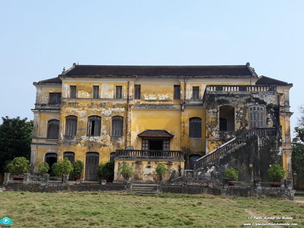 Petit tour en ville - palais de An Dinh