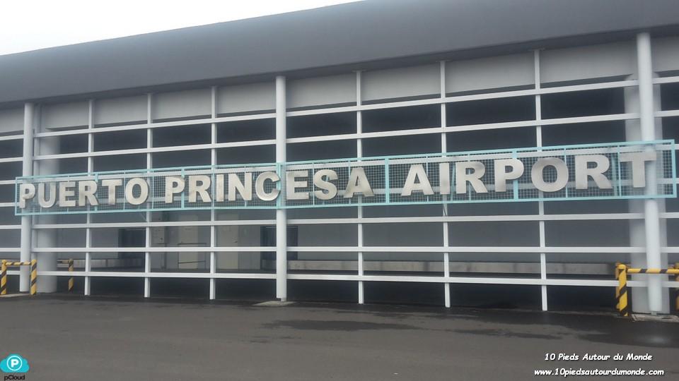 Arrivée à Puerto Princesa