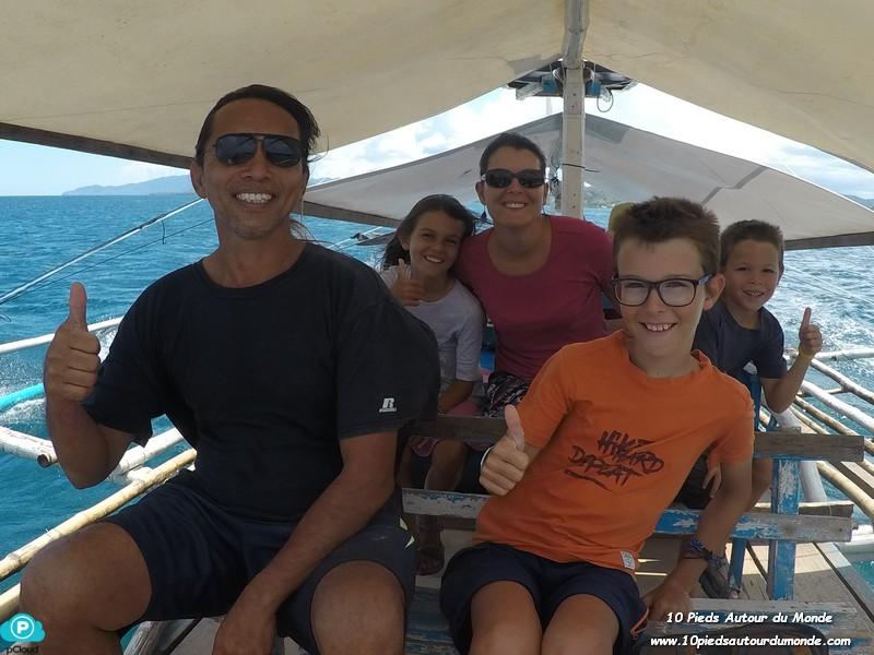 En route pour Isla Pugon