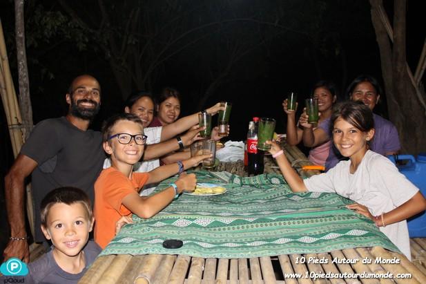 1er soir à Isla Pugon