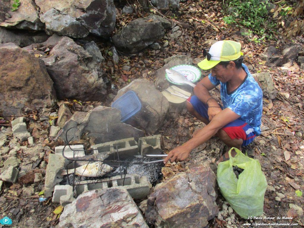 Déjeuner île Kalampuan
