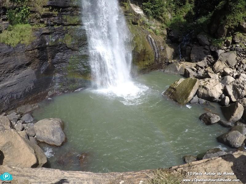 Tengku Lese waterfall