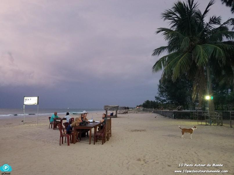 Soirée/dîner sur la plage