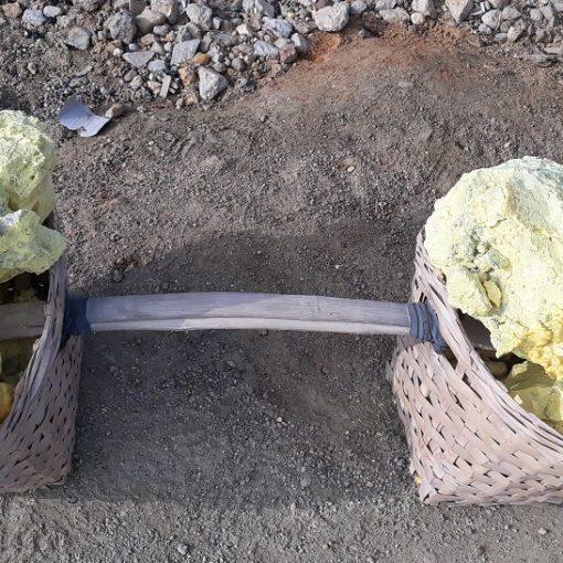 Volcan Ijen - mineurs